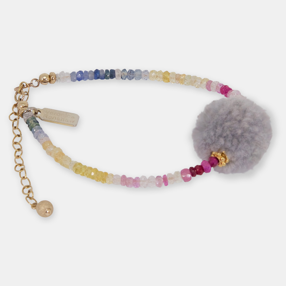 Angels on Bare Skin Middle Pom Pom by Sacred Confetti