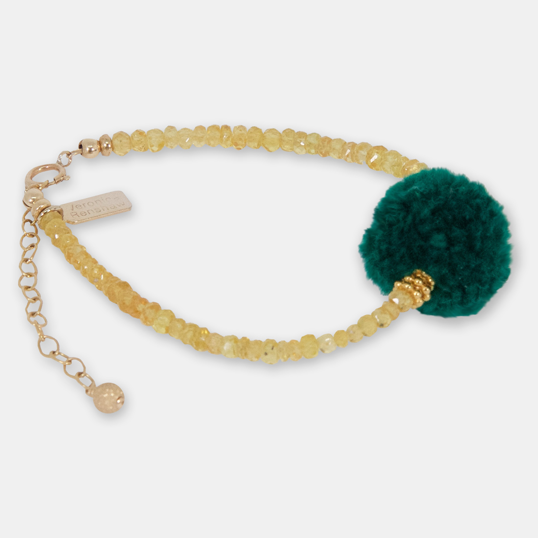 Nude Kale Middle Pom Pom by Sacred Confetti