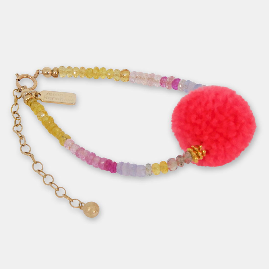 Superwomen's Addiction Middle Pom Pom by Sacred Confetti