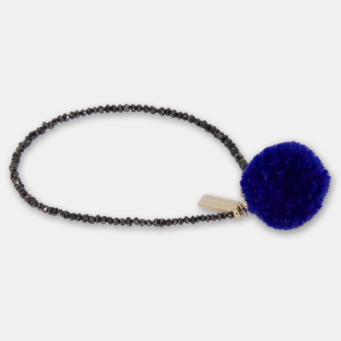 Moroccan Ink Side Pom Pom by Sacred Confetti