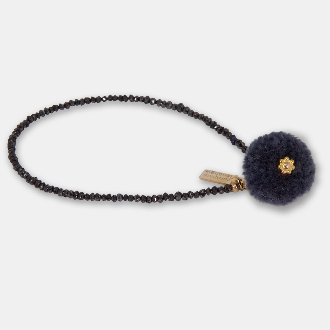 Soul Surrender Side Pom Pom by Sacred Confetti