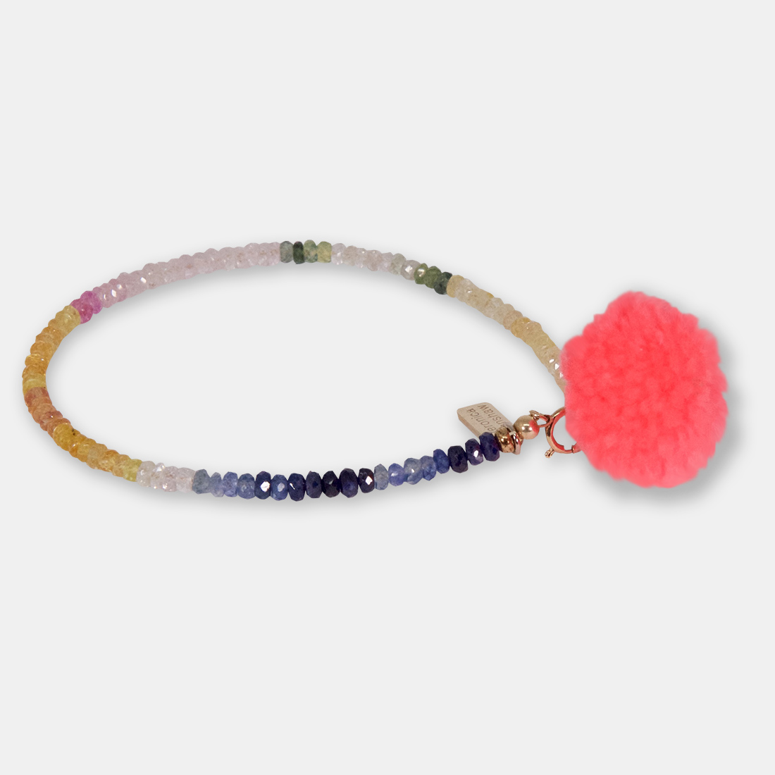 Superwomens Addiction Side Pom Pom by Sacred Confetti